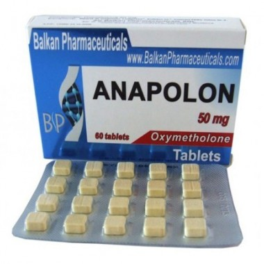 Anapolon Анаполон 50 мг, 100 таблеток, Balkan Pharmaceuticals в Павлодаре