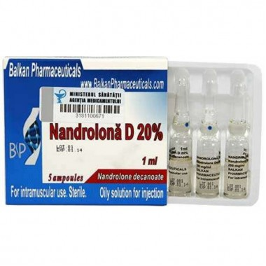 Nandrolona D 20% Нандролон Деканоат 200 мг/мл, 10 ампул, Balkan Pharmaceuticals в Павлодаре