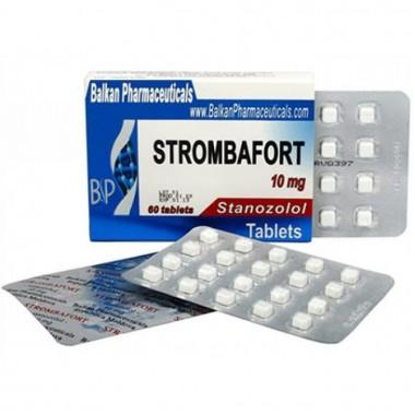 Strombafort Стромбафорт 10 мг, 100 таблеток, Balkan Pharmaceuticals в Павлодаре