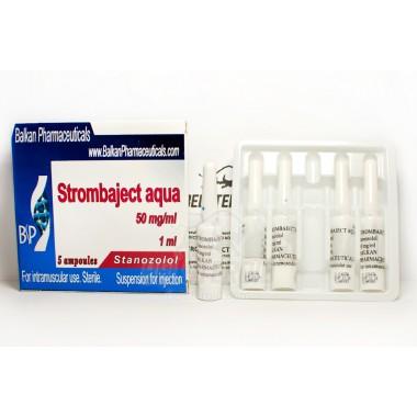 Strombaject aqua Стромбаджект аква 50 мг/мл, 10 ампул, Balkan Pharmaceuticals в Павлодаре