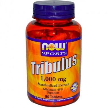 Tribulus Трибулус 1000 мг, 90 таблеток, Now Sports в Павлодаре