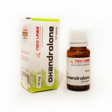 Oxandrolone Оксандролон 10 мг, 100 таблеток, Neo Labs в Павлодаре