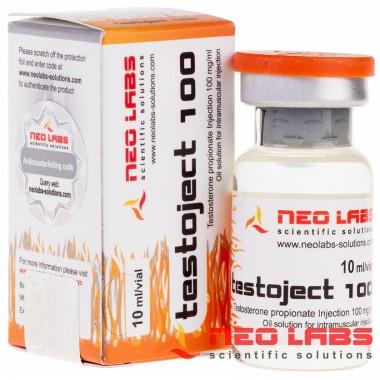 Testoject 100 Testosterone Propionate 100 мг/мл, 10 мл, Neo Labs в Павлодаре
