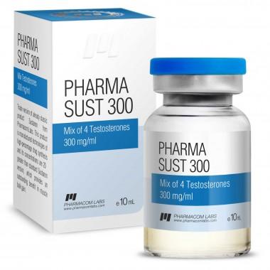 PHARMASUST 300 Тестостерон Микс 300 мг/мл, 10 мл, Pharmacom LABS в Павлодаре