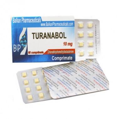 Turanabol Туринабол 10 мг, 100 таблеток, Balkan Pharmaceuticals в Павлодаре