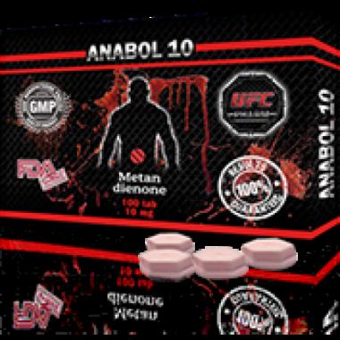 ANABOL 10 Анабол Метан Метандиенон 10 мг, 100 таблеток, UFC PHARM в Павлодаре