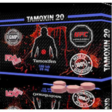 TAMOXIN 20 Тамоксифен 20 мг, 50 таблеток, UFC PHARM в Павлодаре