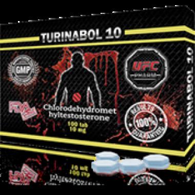 TURINABOL Туринабол 10 мг, 100 таблеток, UFC PHARM в Павлодаре