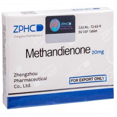 Methandienone Метандиенон 20 мг, 50 таблеток, ZPHC в Павлодаре