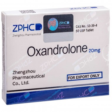 Oxandrolone Оксандролон 20 мг, 50 таблеток, ZPHC в Павлодаре