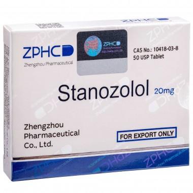 Stanozolol Станозолол оральный 20 мг, 50 таблеток, ZPHC в Павлодаре