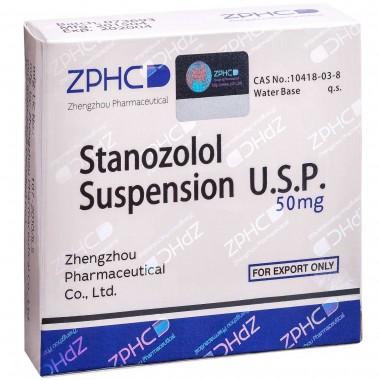 Stanozolol Suspension Станозолол суспензия 50 мг, 10 ампул, ZPHC в Павлодаре