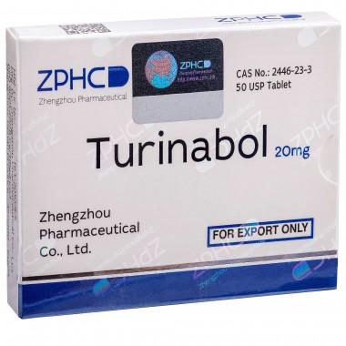 Turinabol Туринабол 20 мг, 50 таблеток, ZPHC в Павлодаре