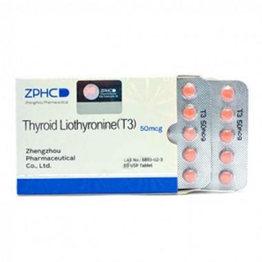 Thyroid Liothyronine T3 Трийодтиронин 50 мкг, 50 таблеток, ZPHC в Павлодаре
