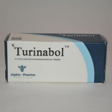 Turinabol (Туринабол) Alpha Pharma 50 таблеток (1таб 10 мг) в Павлодаре